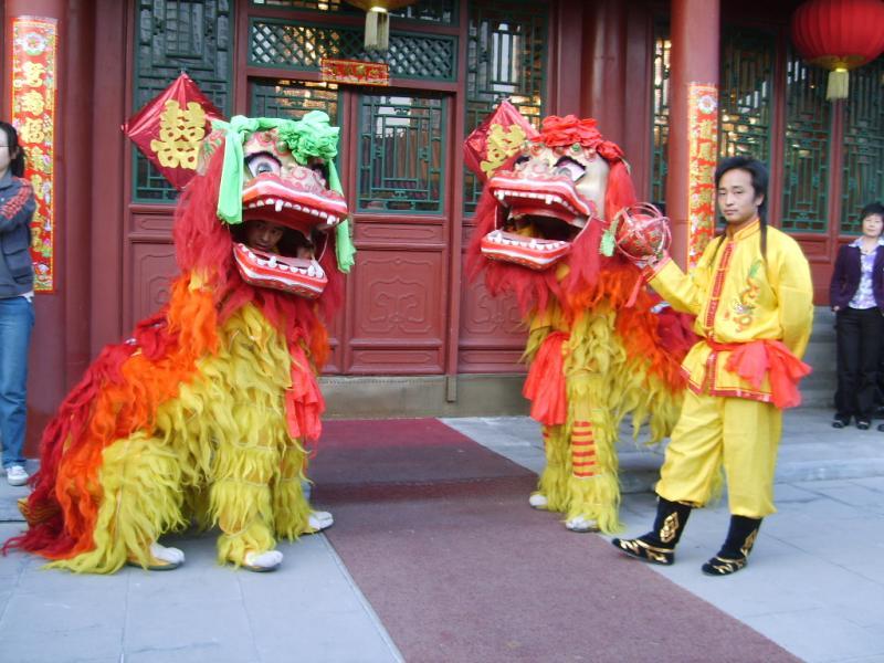 北京舞龙舞狮表演_