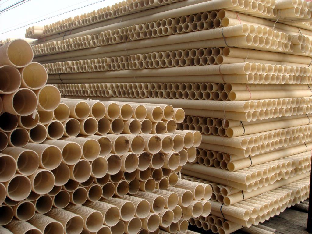 雄县金利塑料公司UPVC大口径排水管 1393规格型号及价格 波纹管