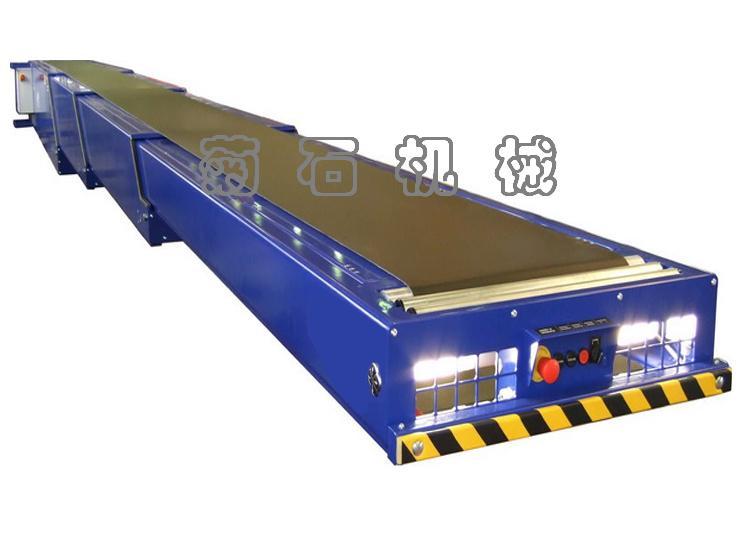 伸缩式型号输送机,输送机皮带图纸及规格-价格皮带上面一住库房层人图片