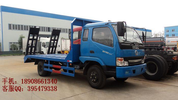 最便宜的CLW5050TPB型东风劲卡平板运输车