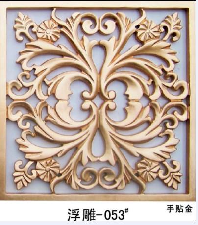 威禾木业14年品牌产品波浪板通花板浮雕板图片