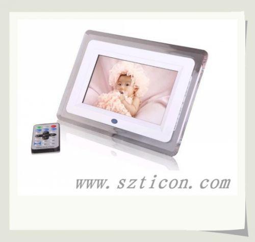 7寸数码相框规格型号及价格 数码相框 广告机 MID 电子书