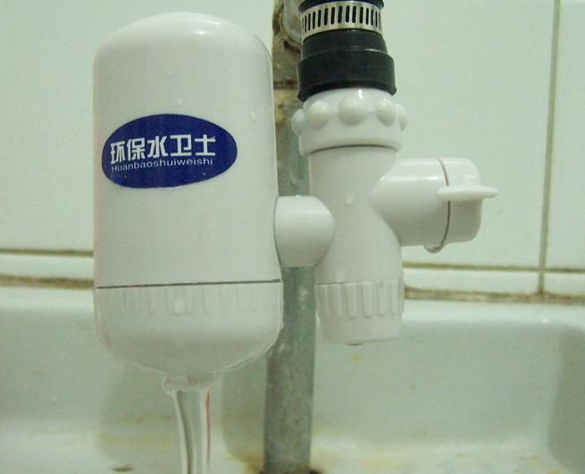 环保水卫士龙头净水器