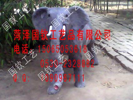 仿真大象照相大象能坐人仿真象模型皮毛�游�