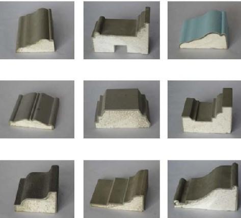EPS线条内装饰样品价格 EPS线条内装饰样品型号规格