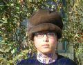 男人婆貂皮帽子
