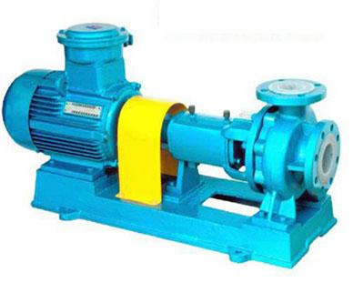 制造�S家直�NIHF型氟塑料�r里�x心泵