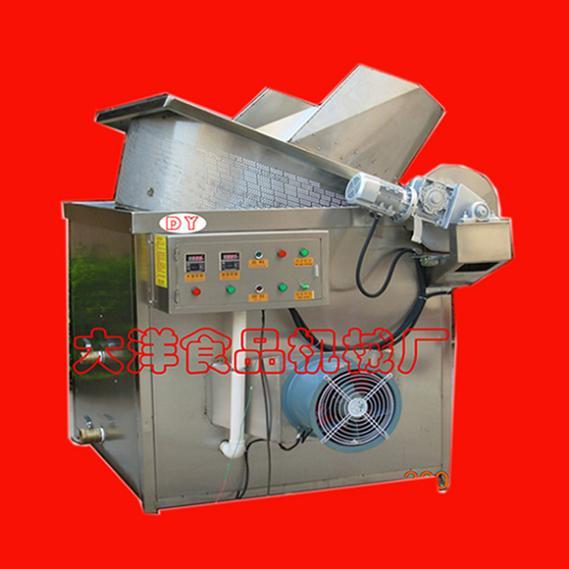 食品油炸机-电加热油炸锅-小型油炸炉
