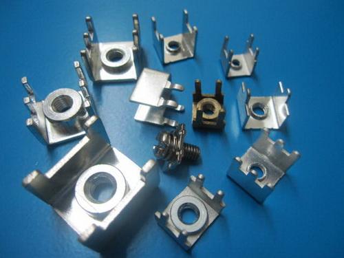 M6-PCB展示规格/PC板焊接端子价格及披肩型端子焊接子吧图纸艳钩图片