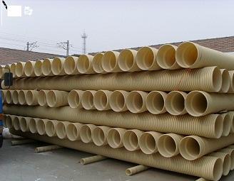 山东武峰科润国标PVC双壁波纹管