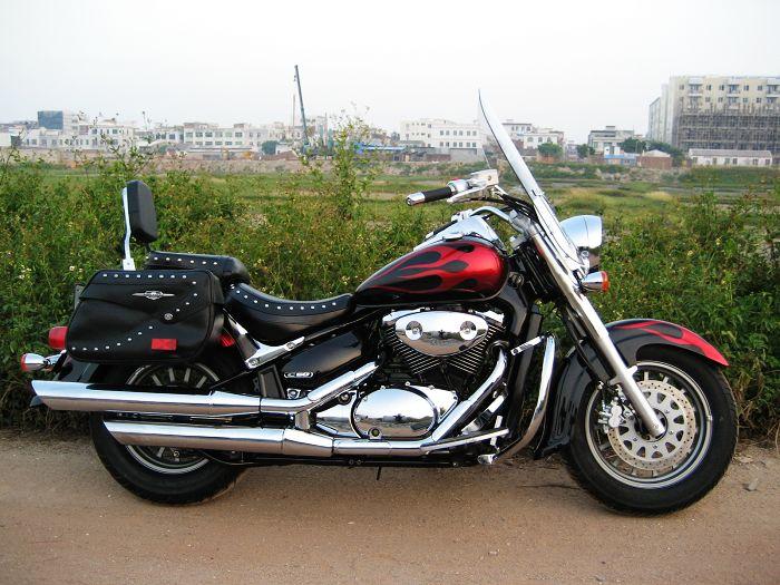 现货已到售纯进口铃木VL800太子摩托车价格及规格型号