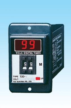 台湾统技数显时间继电器,具有安良 士研 CKC同等品质 T2D