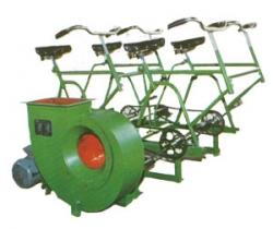 安防DJF-I型电动脚踏两用风机