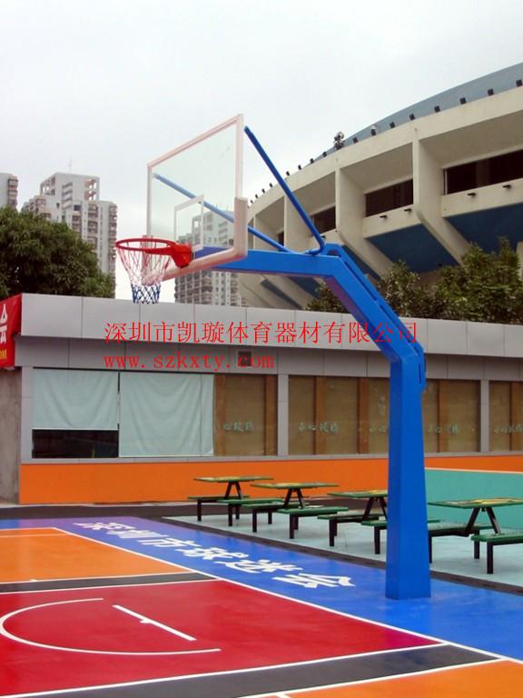 深圳南头乒乓球台款式新价格低篮球架厂家