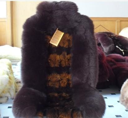 冬季坐�|羊毛狐�毛坐�|