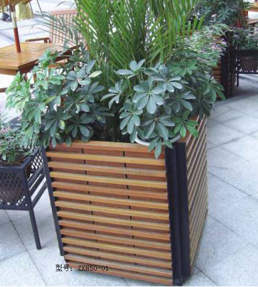 园林木质花盆价格咨询振兴景观打造品牌园林木质花盆价格及规格型号