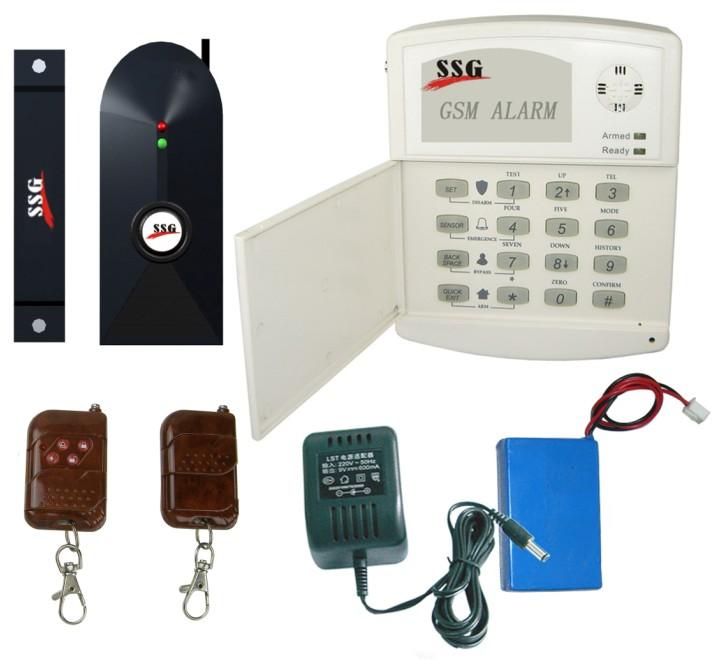 家用防盗报警器的原理_防盗无线电子报警器