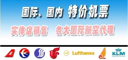 国际国内航班机票预售实体网点-天津河西宾友