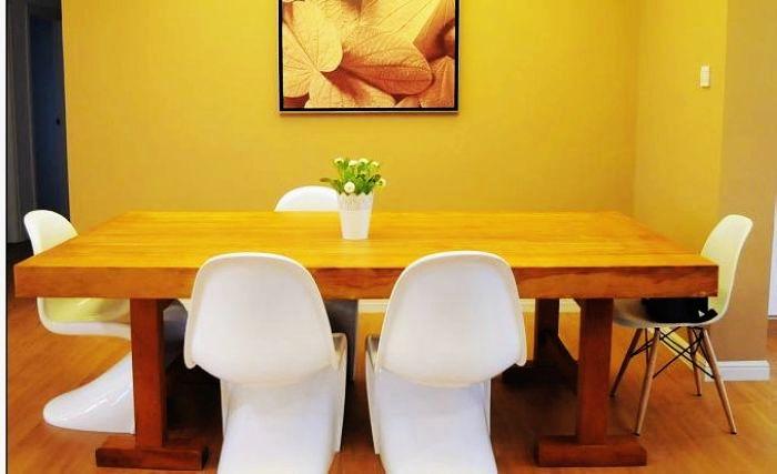 办公家具实木大板原木家具吃饭桌宜家家具价格及规格型号