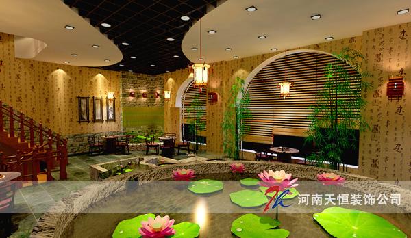 郑州茶会所设计耳目一新 茶楼装修装饰公司