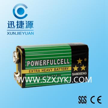 6F22电池9V电池遥控车电池