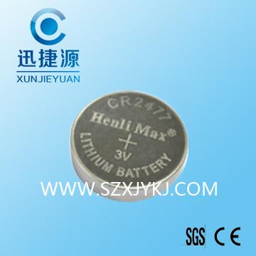 CR2477电池 3V扣式电池