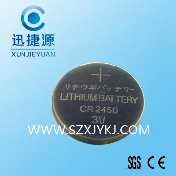 CR2450�池 有源卡�池�R�e卡�池
