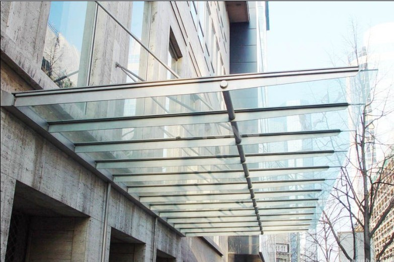 虹口区钢结构玻璃雨棚安装设计