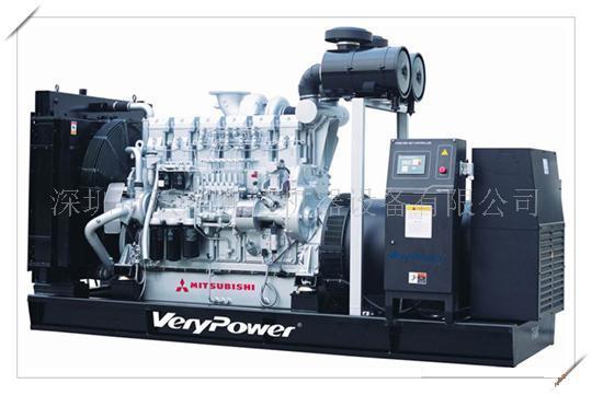 500KW三菱发电机组规格型号及价格-柴油发电